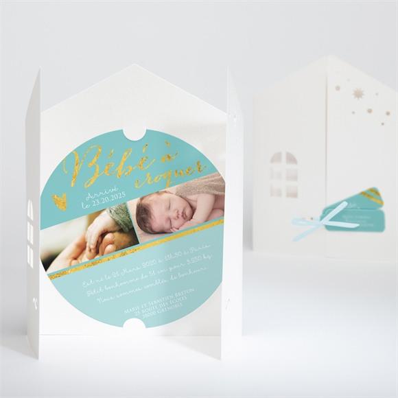 Faire-part naissance Faire part naissance pochette réf.N90015