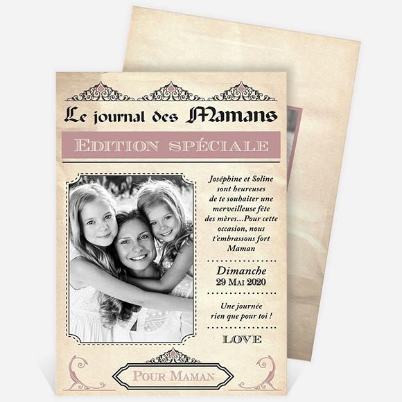Carte fête des mères réf. N211118 réf.N211118