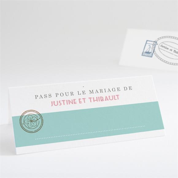 Marque-place mariage Passeport réf.N440488