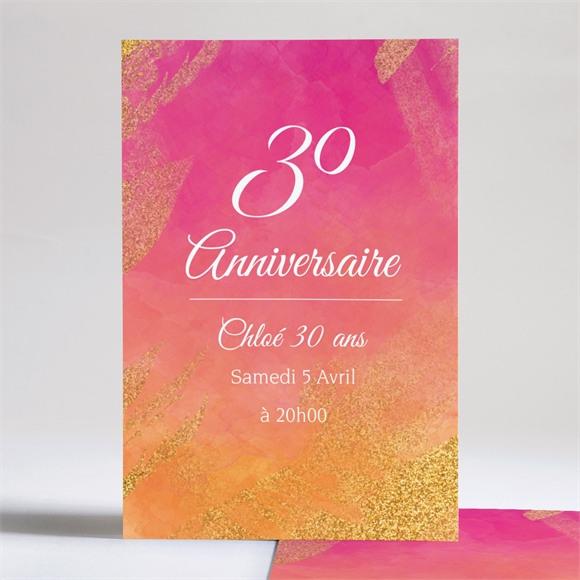 Invitation anniversaire En l'honneur de mes 30 ans réf.N241119