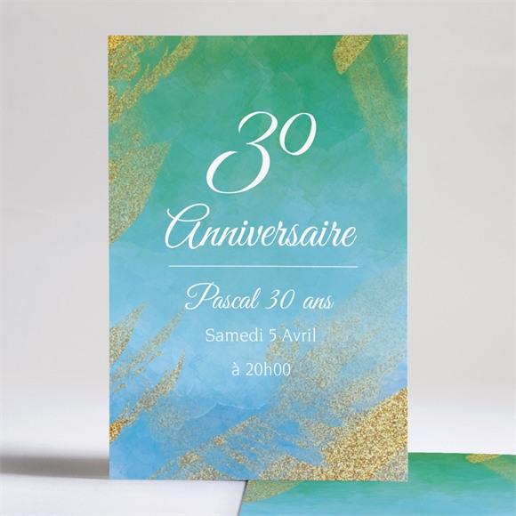Invitation anniversaire Dans la joie! réf.N241120
