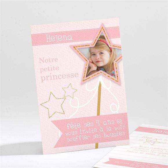 Invitation anniversaire Princesse féerique réf.N211124