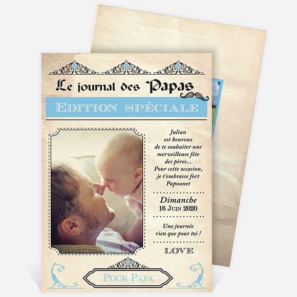 Carte fête des pères réf. N211127 réf.N211127