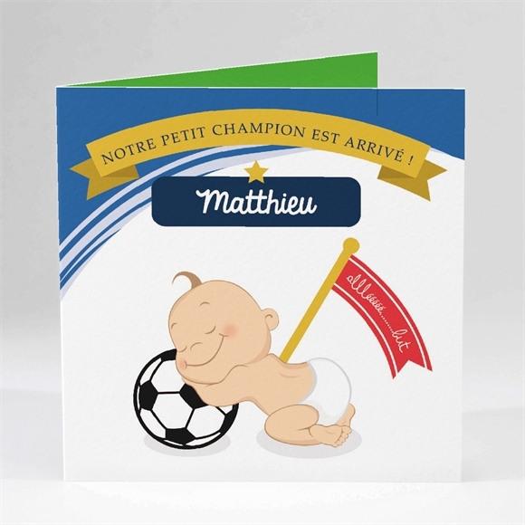 Faire-part naissance Graine de Champion ! réf.N45163
