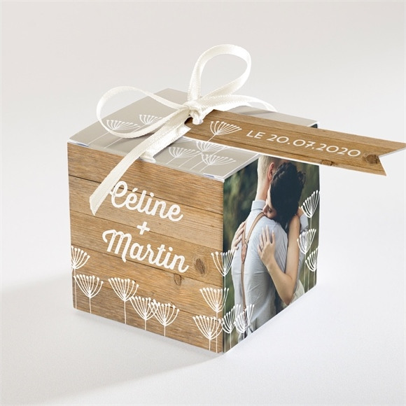 Boîte de dragées mariage réf. N34044 réf.N34044