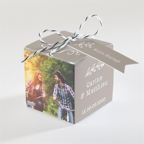 Boîte de dragées mariage réf. N34045 réf.N34045