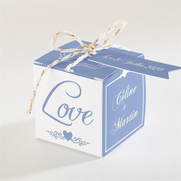 Boîte de dragées mariage réf. N34046 réf.N34046