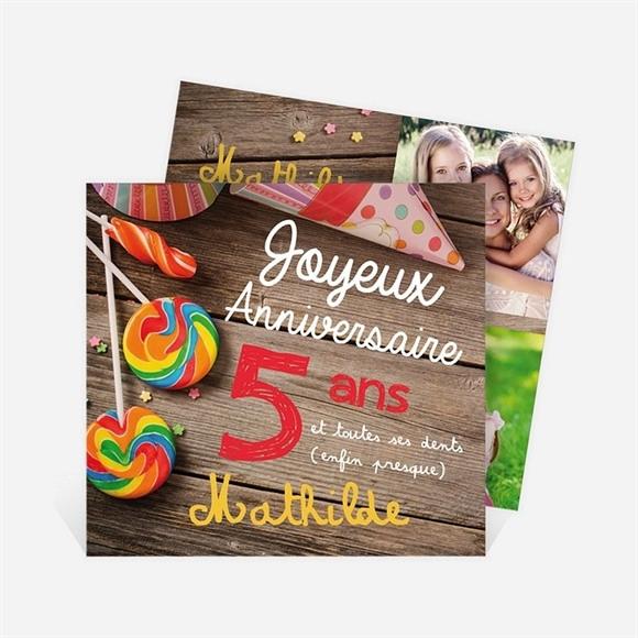 Carte anniversaire réf. N311171 réf.N311171