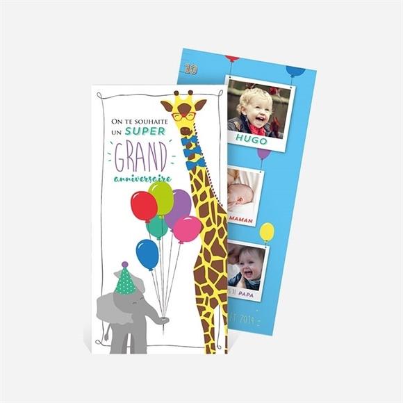 Carte anniversaire réf. N22144 réf.N22144