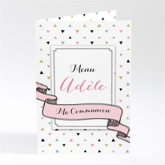 Menu communion Sa première communion réf.N401741