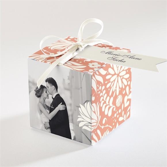 Boîte de dragées mariage Liberty réf.N34053