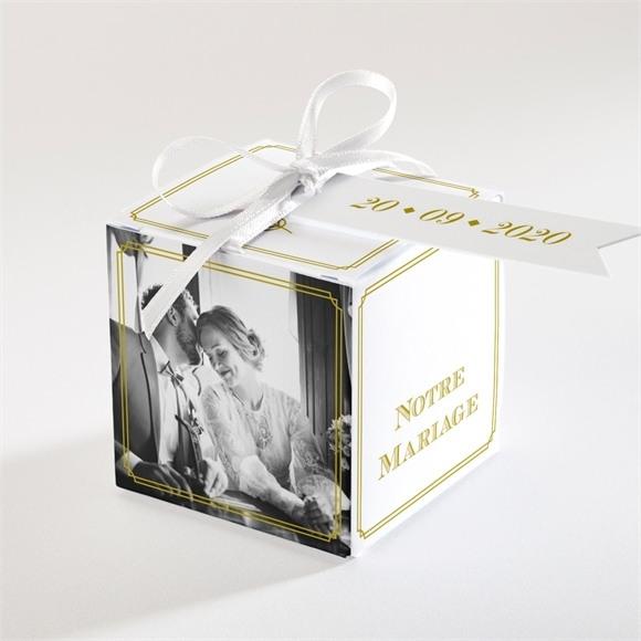 Boîte de dragées mariage Classique réf.N34054