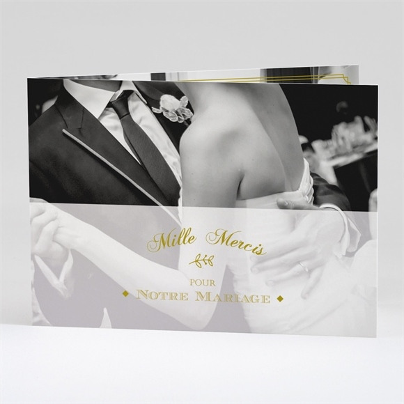 Remerciement mariage Classique réf.N42134