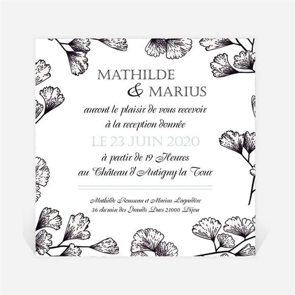 Carton d'invitation mariage Univers retro réf.N3001261