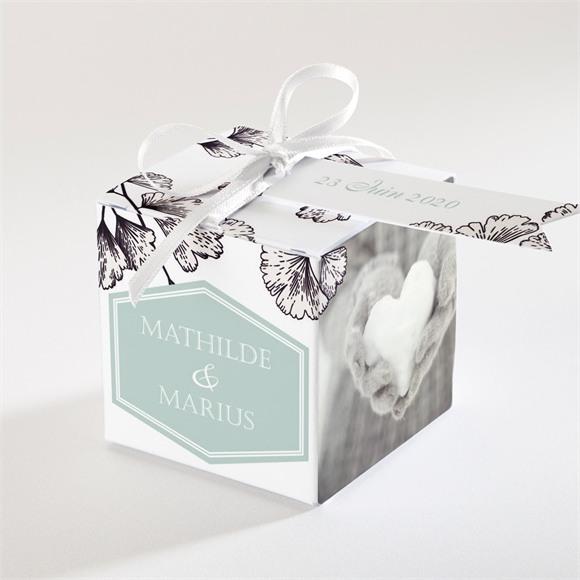 Boîte de dragées mariage Univers retro réf.N34059
