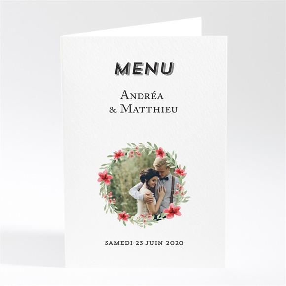 Menu mariage Farandole végétale réf.N401761