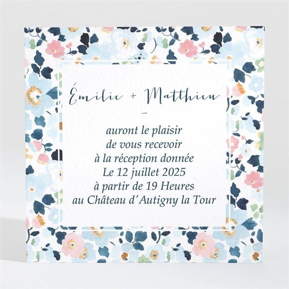 Carton d'invitation mariage Liberty chic réf.N3001288
