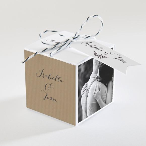 Boîte de dragées mariage Amour toujours réf.N34071