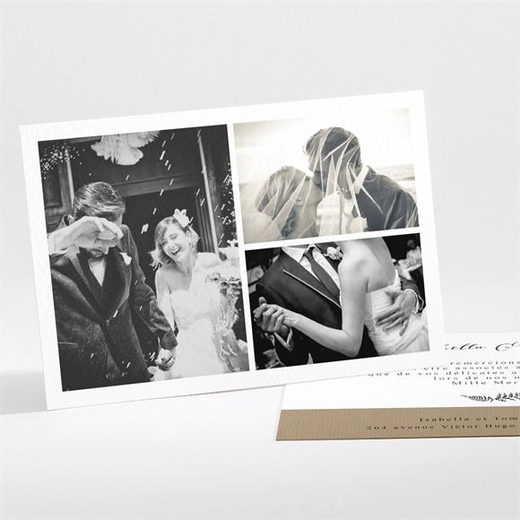 Remerciement mariage Amour toujours réf.N111175
