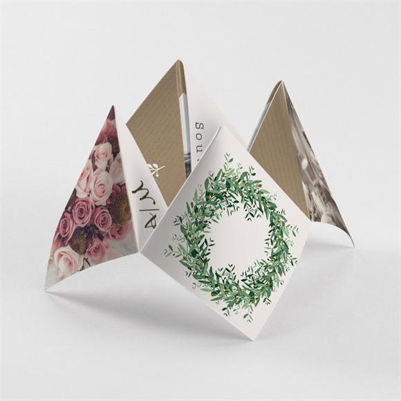Remerciement mariage Ronde de bonheur réf.N33054