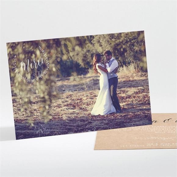 Remerciement mariage Célébration d'amour réf.N111179