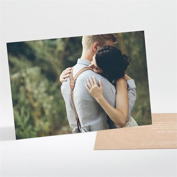 Remerciement mariage Reportage photo réf.N111182