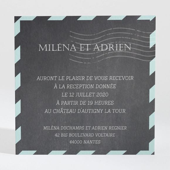 Carton d'invitation mariage Ecrire notre Histoire réf.N3001337