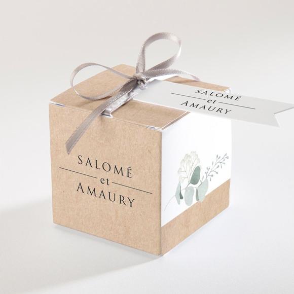 Boîte de dragées mariage Bonheur réf.N34085