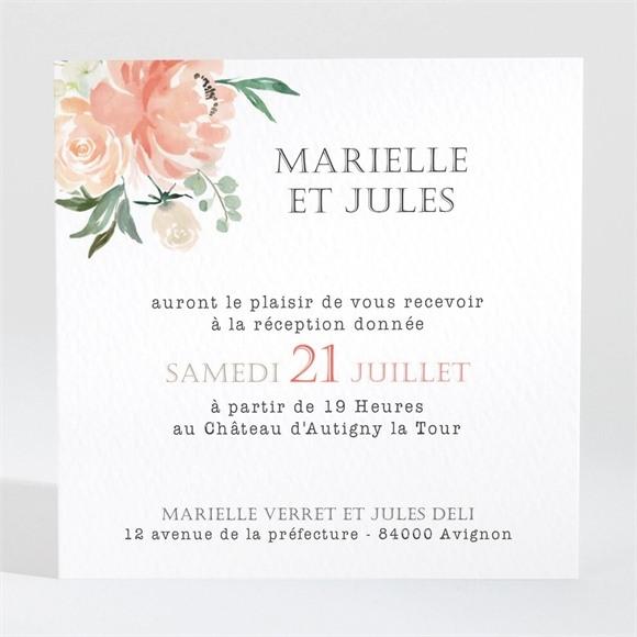 Carton d'invitation mariage Belle union réf.N3001372