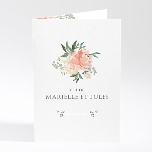 Menu mariage Belle union réf.N401790