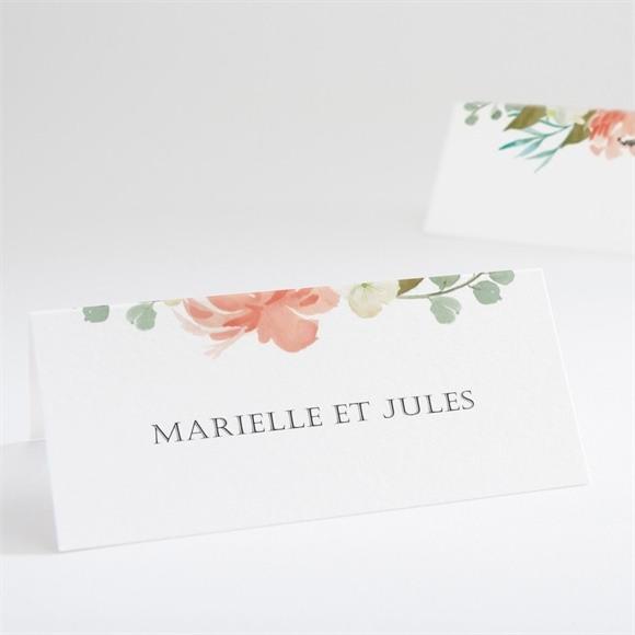 Marque-place mariage Belle union réf.N440649