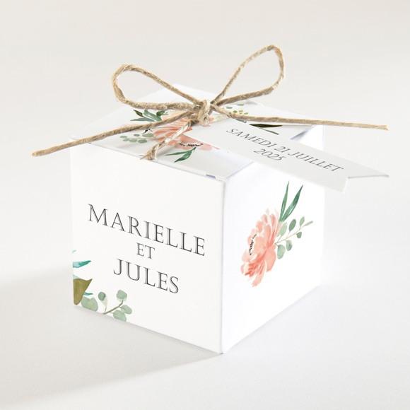Boîte de dragées mariage Belle union réf.N34094