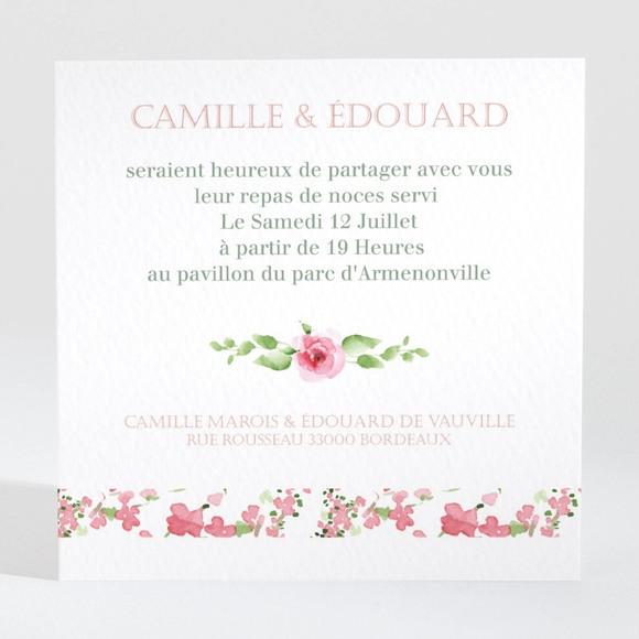 Carton d'invitation mariage Fraicheur réf.N3001382