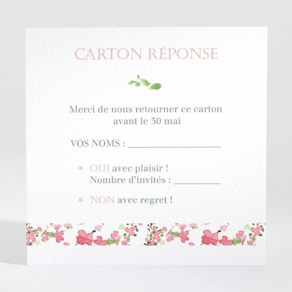 Carton réponse mariage Fraicheur réf.N3001383