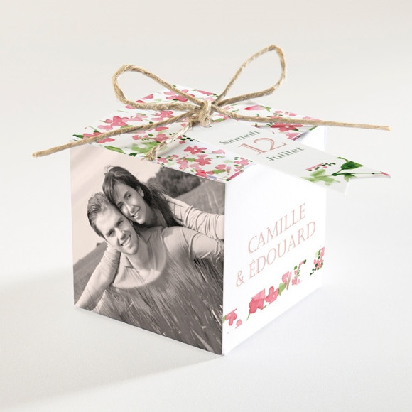 Boîte de dragées mariage Fraicheur réf.N34097