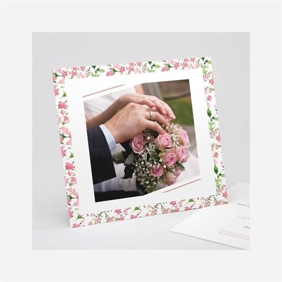 Remerciement mariage Fraicheur réf.N311201