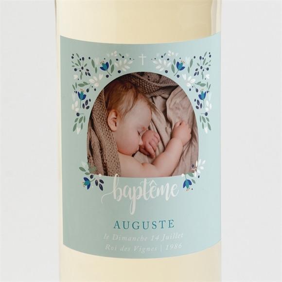 Etiquette de bouteille baptême Confidences réf.N3001411