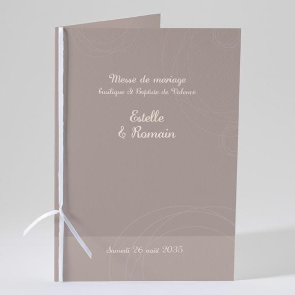 Livret de messe mariage le Duo réf.N49106