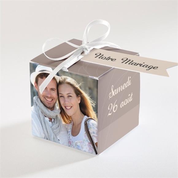 Boîte de dragées mariage le Duo réf.N340113