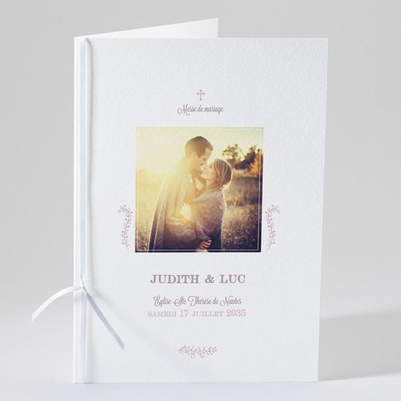 Livret de messe mariage Roman photo réf.N49108
