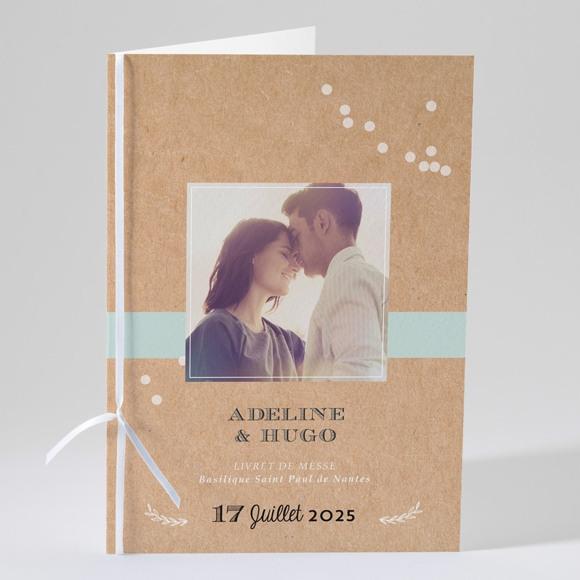 Livret de messe mariage Petite cocotte réf.N49116
