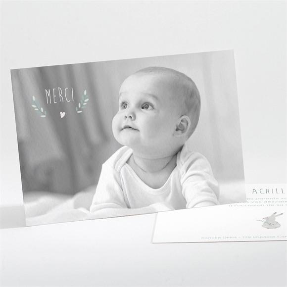 Remerciement naissance Jolie Biche réf.N111201