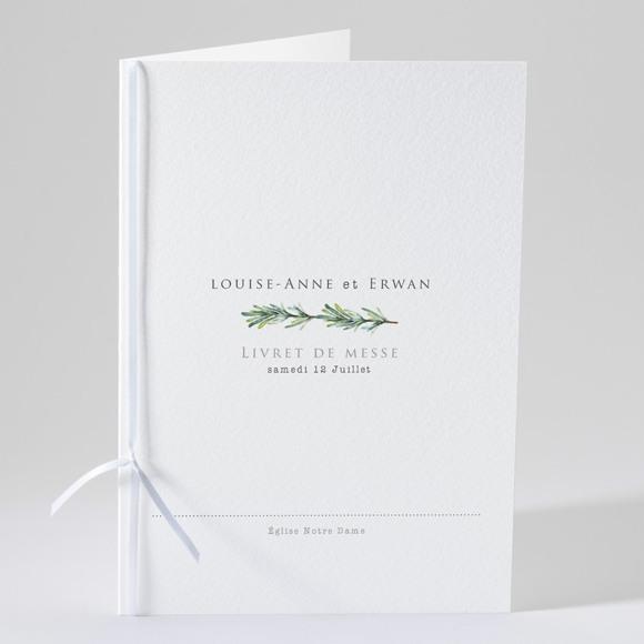 Livret de messe mariage Poésie et photo réf.N49136