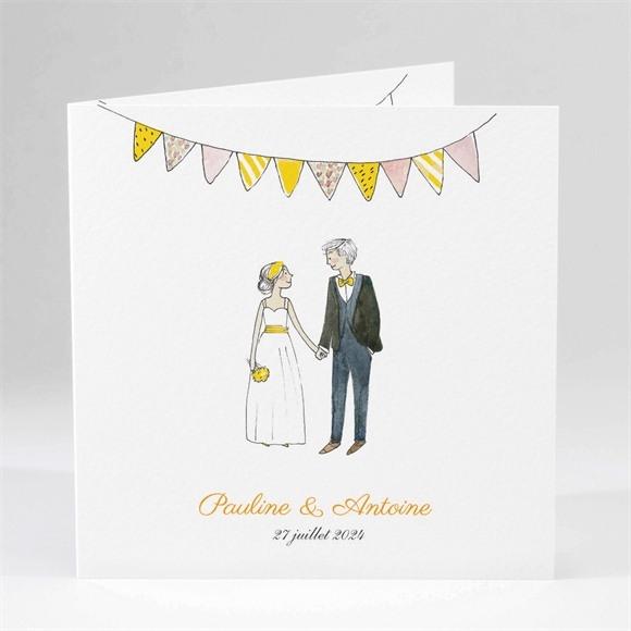 Faire-part mariage Connivence réf.N45185