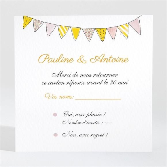 Carton réponse mariage Connivence réf.N3001419
