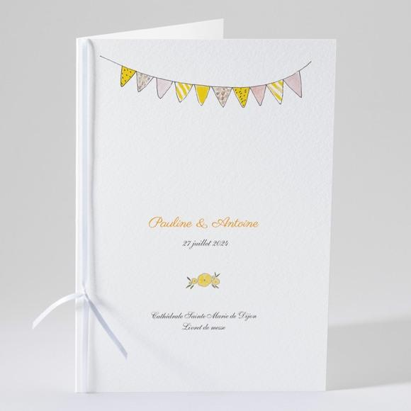 Livret de messe mariage Connivence réf.N49142