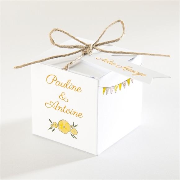 Boîte de dragées mariage Connivence réf.N340123