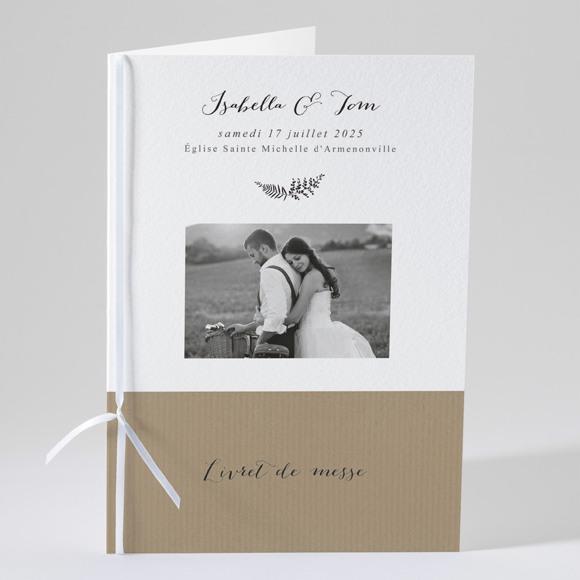 Livret de messe mariage Amour toujours réf.N49138