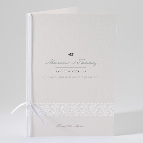Livret de messe mariage Nature raffinée réf.N49145