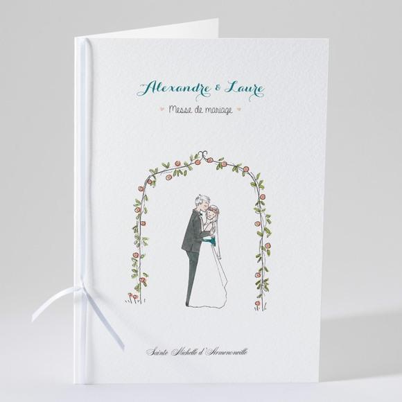 Livret de messe mariage Bohème réf.N49147